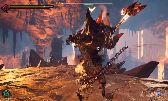 Artefact v1 Darksiders 3 performances ordinateur gamer
