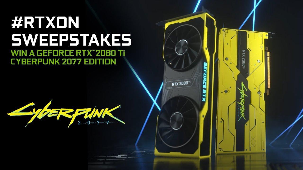 GeForce RTX Cyberpunk