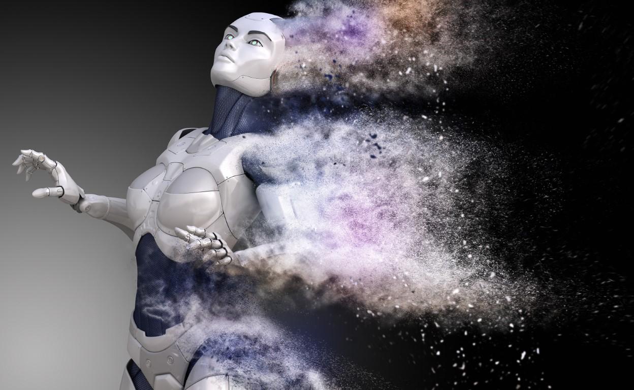 Cyborg mis en poussière