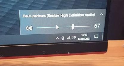 Réglage de la sortie audio sur Windows 10 (2)