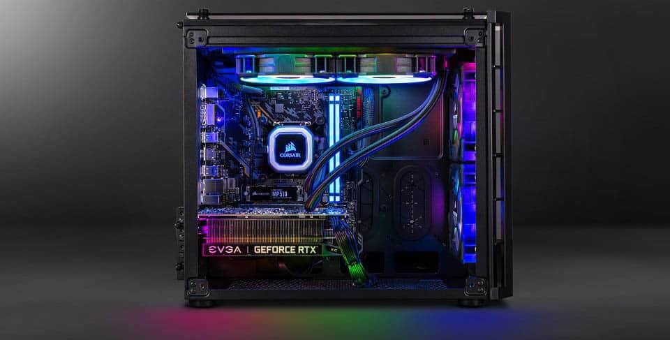 Montage PC tour gamer reconditionné RGB