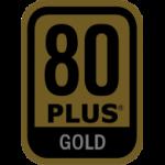 Cartification 80+ Gold Logo sombre