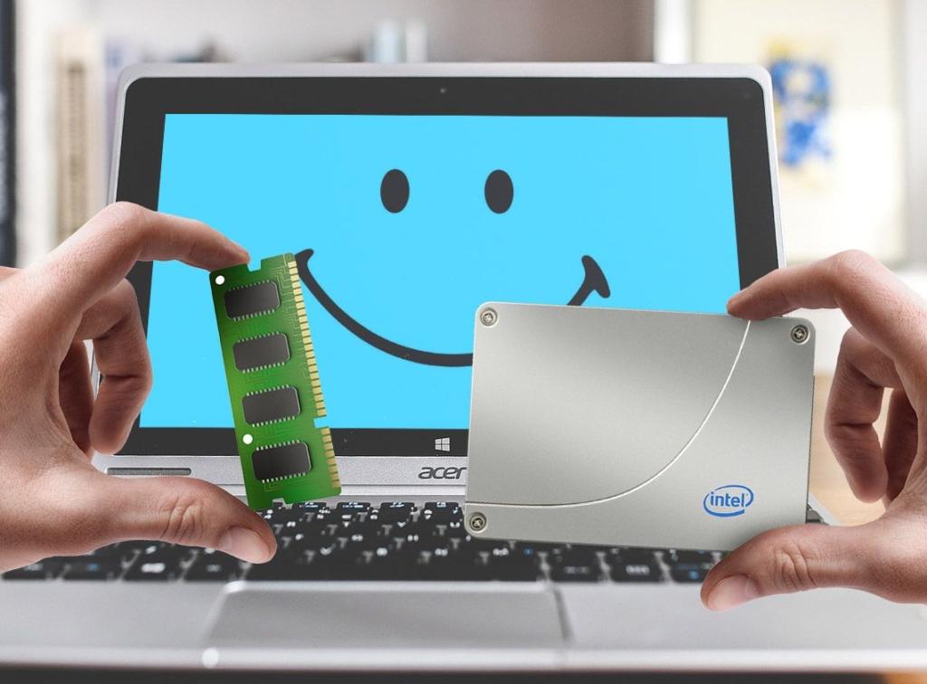 upgrade du PC portable laptop