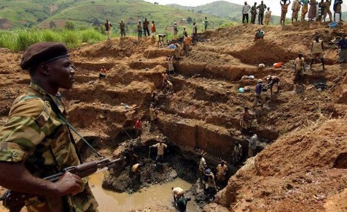 Mine de tantale en RDC
